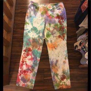 Tie dye jeans by style & co